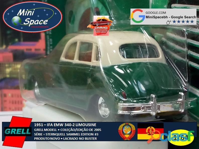 Grell Modell 1951 IFA EMW 340 2 cor verde 1/64 4