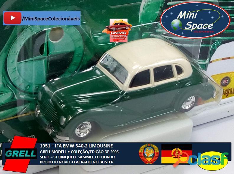 Grell Modell 1951 IFA EMW 340 2 cor verde 1/64 5
