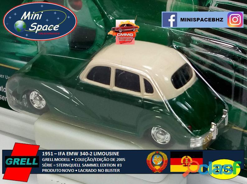 Grell Modell 1951 IFA EMW 340 2 cor verde 1/64 6