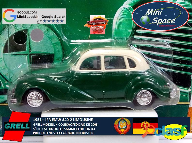Grell Modell 1951 IFA EMW 340 2 cor verde 1/64 7