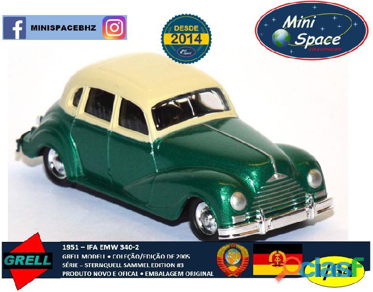 Grell Modell 1951 IFA EMW 340 2 cor verde 1/64