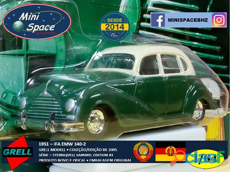 Grell Modell 1951 IFA EMW 340 2 cor verde 1/64 3
