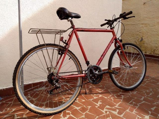 Antiga bike mtb konnor aro 26 relíquia anos 90 18 marchas