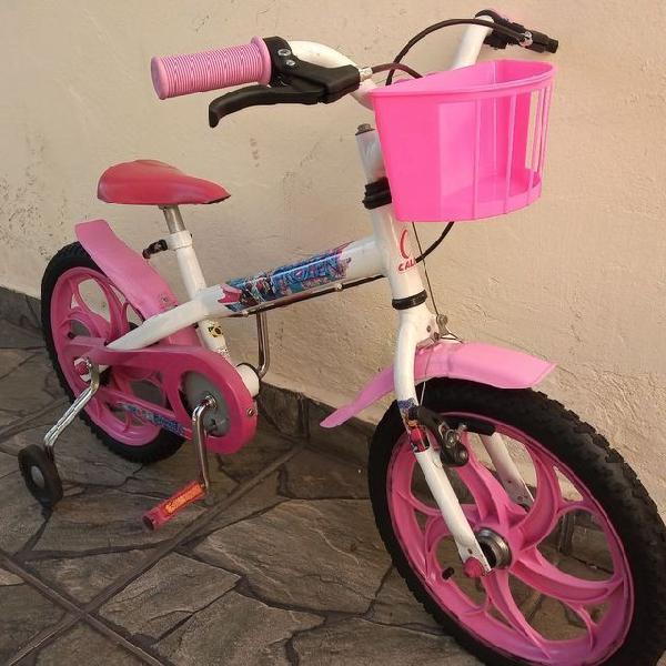 Bicicleta caloi frozen aro 16