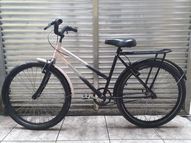 Bicicleta caloi poti aro 26 - preta/rosa