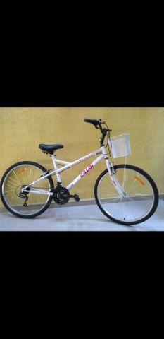 Bicicleta caloi ventura aro 26 - 21 marchas