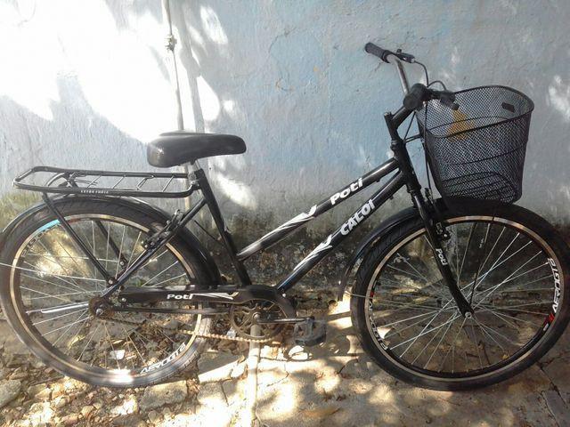 Bicicleta poti caloi rodas aero rolimã nova sem uso