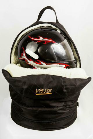 Bolsa tripla para capacete, macacão e sapatilha kart