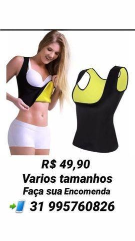 Camiseta termica - cinta modeladora
