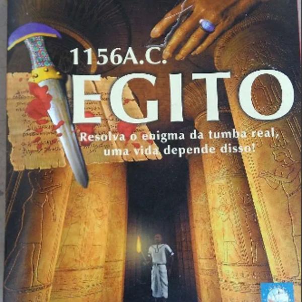 Egito 1156 a.c. jogo antigo para pc cd rom