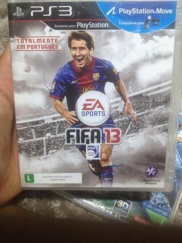 Fifa 13 - ps3 original, lacrado. playstation 3