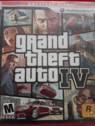 Grand theft auto 4) para ps3