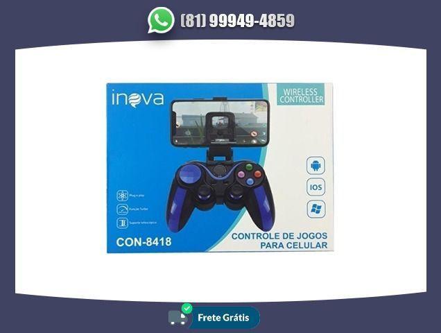 Gamepad bluetooth inova con-8418