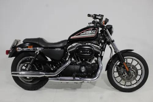 Harley davidson sportster xl 883 r 2011 preta