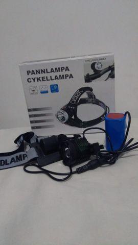 Lanterna de cabeça bike recarregável;) entrega grátis
