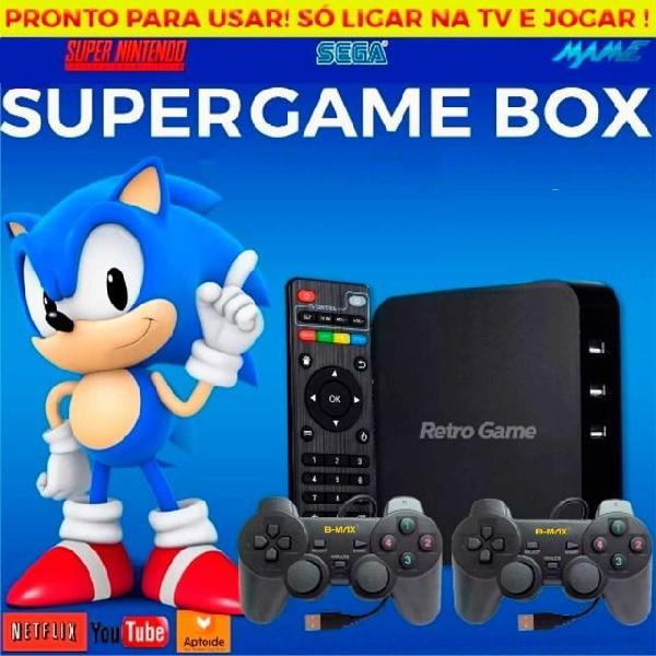 Promoção video game retro controle sem fio / ps1, snes,
