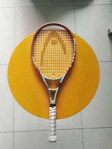 Raquete tênis head nano titanium (adulto) + artengo