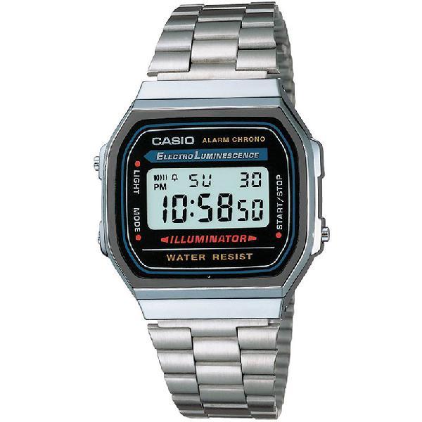Relógio casio vintage a168wa-1wdf - surf alive