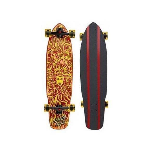 Skate santa cruz longboard sun goddes flex tech - surfalive