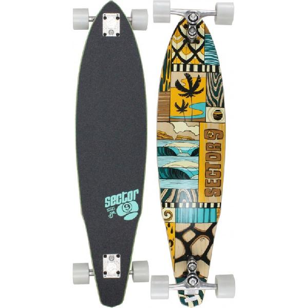 Skate sector 9 longboard discovery erick abel artist series