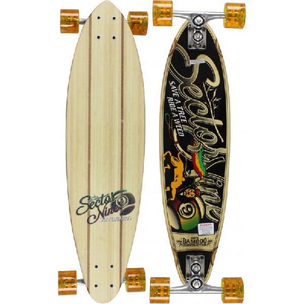 Skate sector 9 longboard hot steppa bamboo importado -