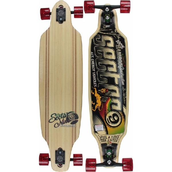 Skate sector 9 longboard sentinel bamboo series - surfalive