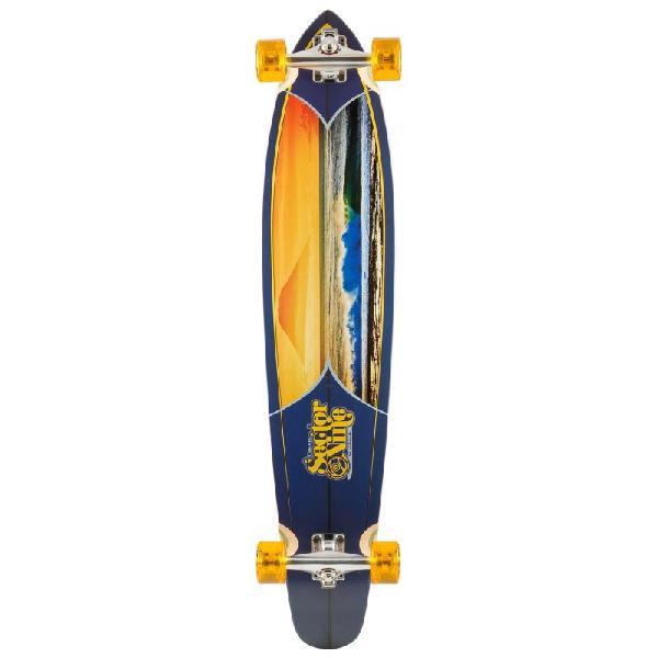Skate sector 9 longboard super tubes completo - surfalive