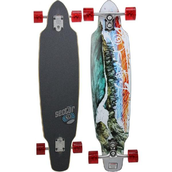 Skate sector 9 northern lights longboard sidewinder series -