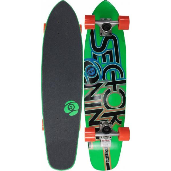 Skate sector 9 the wedge verde completo - surfalive