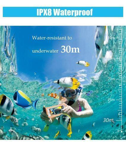 Saco universal prova da água para celular