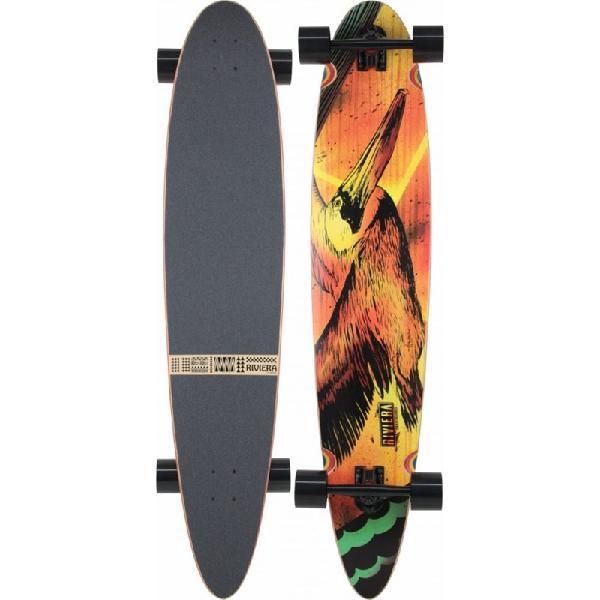 Skate riviera longboard aloft printed grip - surfalive