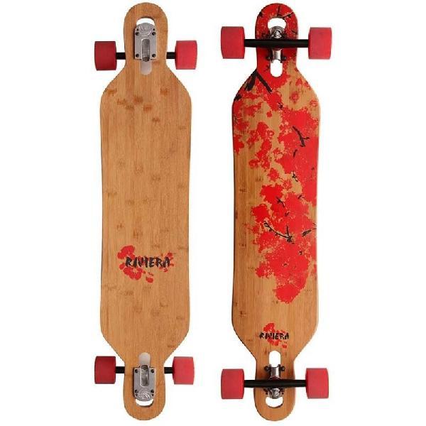 Skate riviera longboard cherry blosson droptrough -