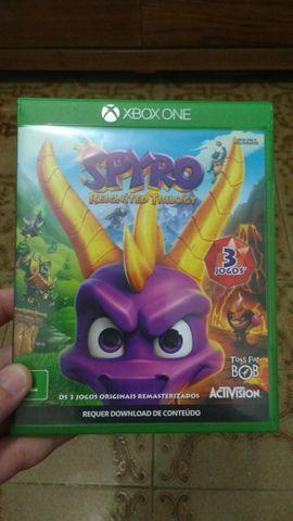 Spyro trilogy xbox one/ aceito troca