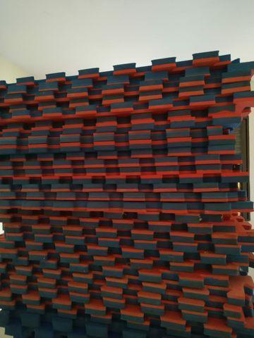 Vendo 30 placas de 1x1 40mm 30,00 por placa/ parcelado em 4