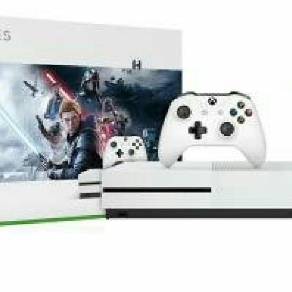 Xbox one s 1tb 1 controle microsoft com 1 jogo - 1 mês de