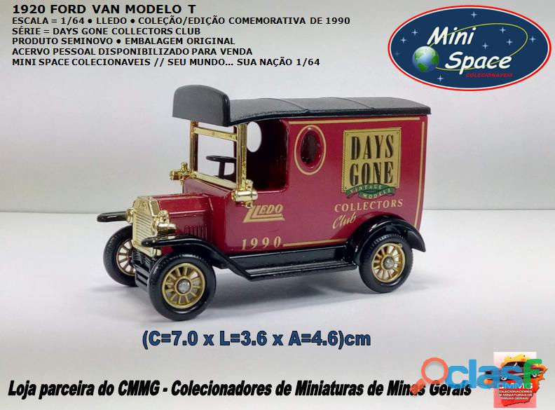 Lledo 1920 ford van modelo t days done 1/64