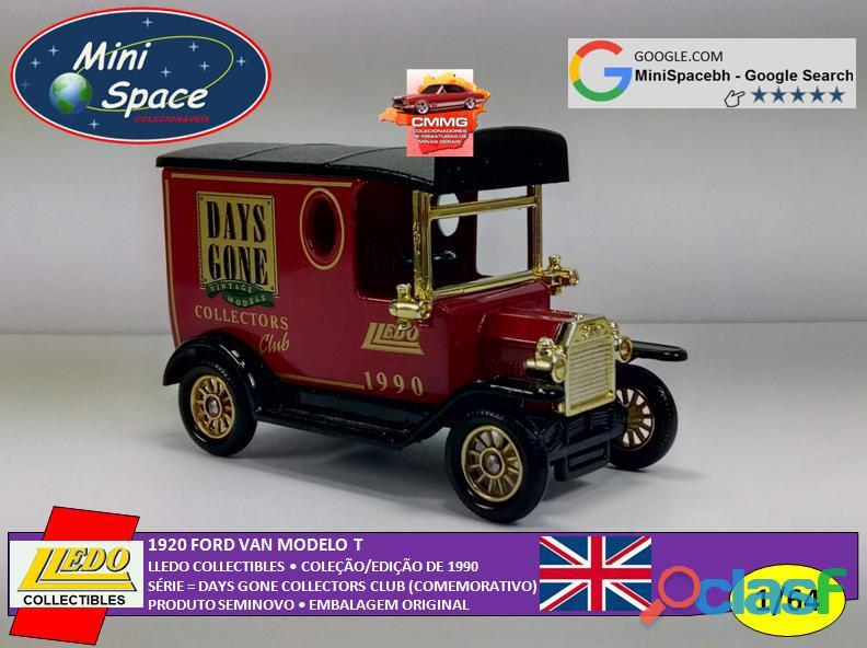 Lledo 1920 Ford Van modelo T Days Done 1/64 9