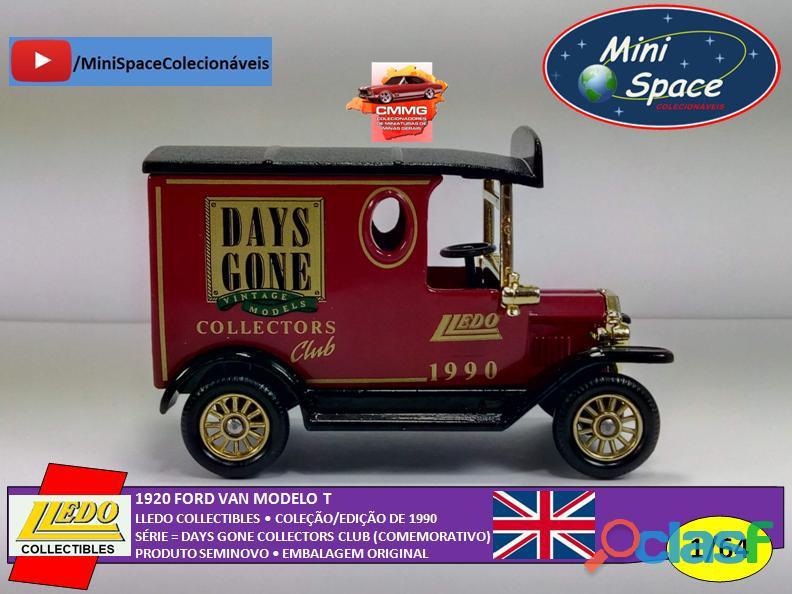 Lledo 1920 Ford Van modelo T Days Done 1/64 8