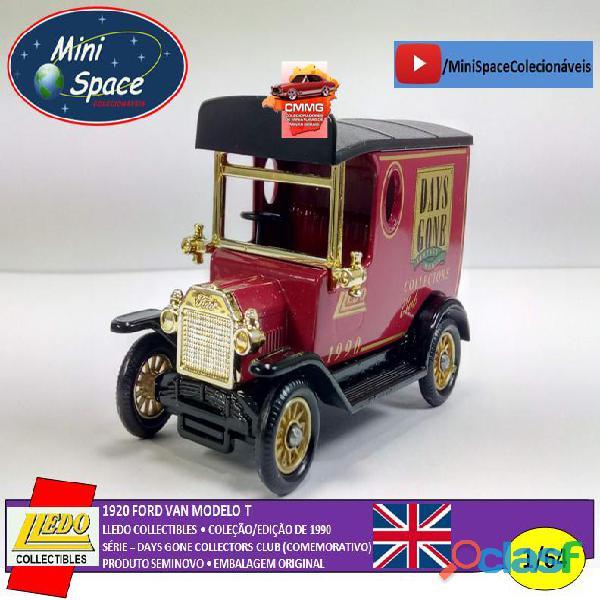Lledo 1920 Ford Van modelo T Days Done 1/64 5