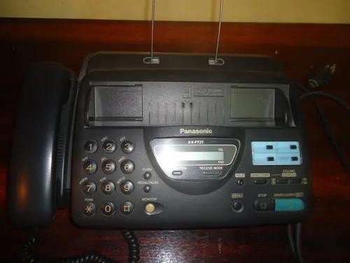 Aparelho Antigo Fax Telefone Panasonic Kx Ft21 Funcionando