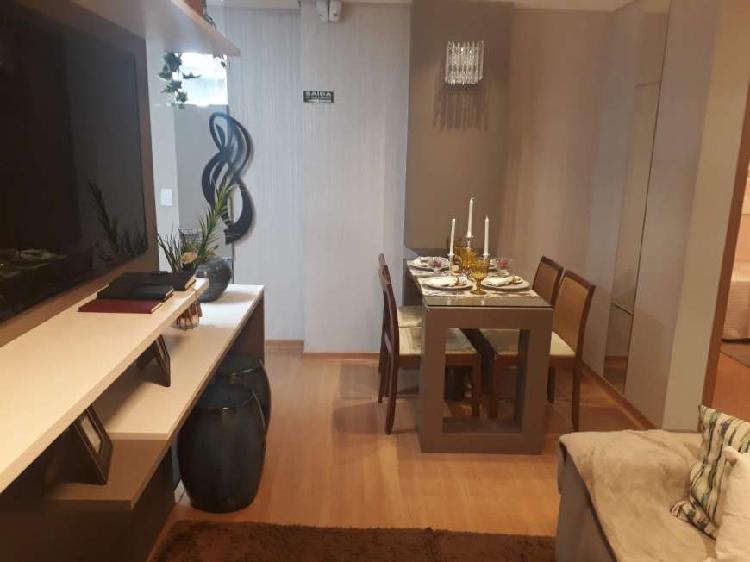 Apartamento com 1 dormitório, vaga de garagem prox ao