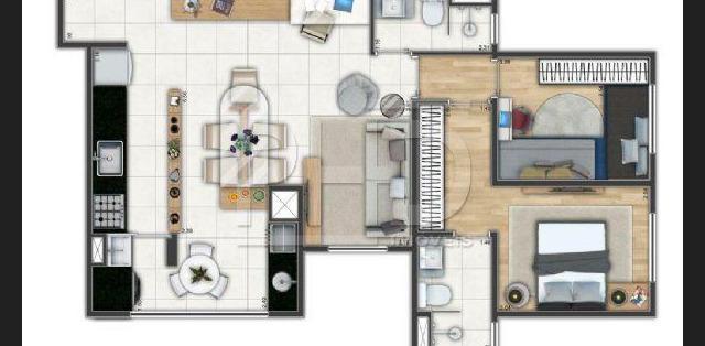 Apartamento de 72 metros quadrados no bairro Vila Assunção