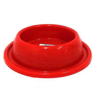 Comedouro plástico furacão pet gato antiformiga vermelho -