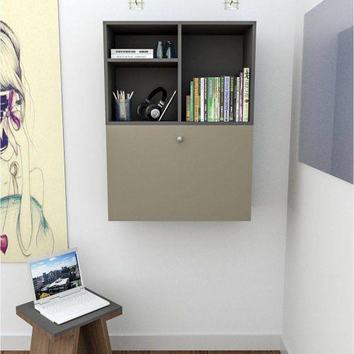 Escrivaninha bancada suspensa appunto bac3700 enjoy 1 porta
