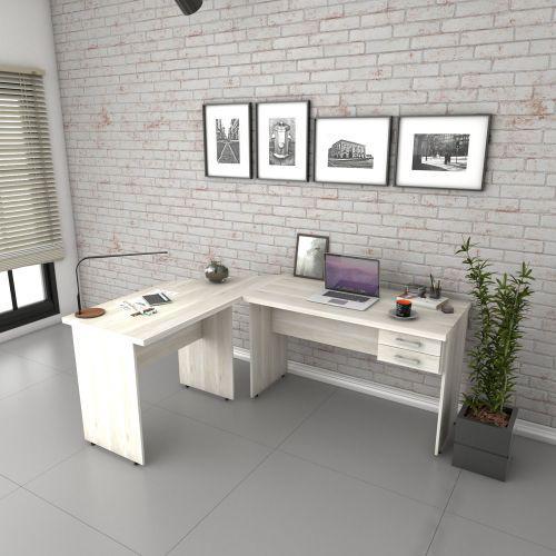 Escrivaninha mesa de escrit/u00f3rio em l trevalla