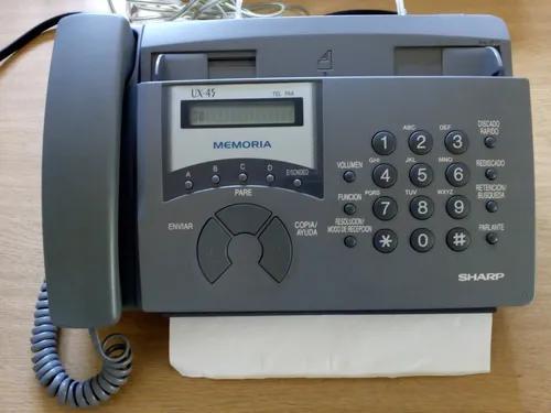 Facsimile ux45 sharp fax telefone digital
