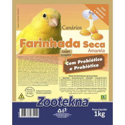 Farinhada zootekna premium seca premium fso-50 amarela