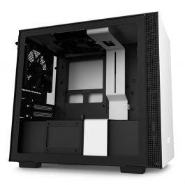 Gabinete nzxt h210 branco/preto
