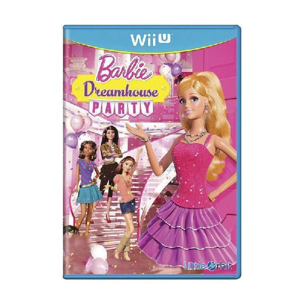 Jogo barbie dreamhouse party - wii u (lacrado)