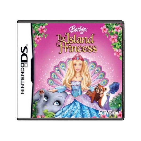Jogo barbie: the island princess - ds